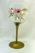 "Pfaltzgraff 2006 Garland Spruce Wine Goblet 8 1/2"" - $11.33"