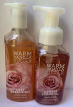 Bath Body Works WARM VANILLA SUGAR Anti Bacterial Deep Cleansing Foaming... - $32.62