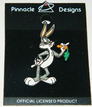 Looney Tunes Bugs Bunny Figure Metal Enamel Sparkle Pin NEW UNUSED - $9.74