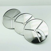 SUNBEAM 14031 Heavy Duty Food Processor Slice Shred Blade Disc Lot Of 3 - $20.88