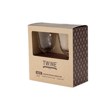 Chateau Faceted Crystal Goblet by Twine - $37.99