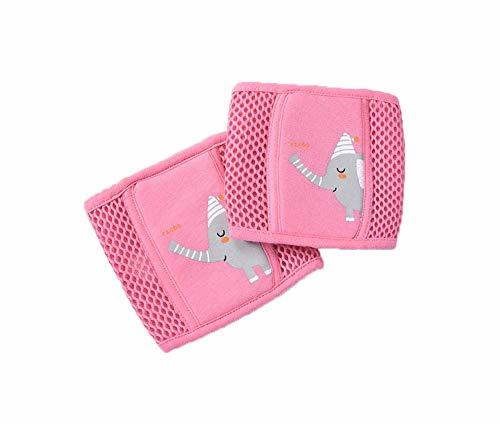 PANDA SUPERSTORE Cute Crawling Baby Knee Pads Adjustable Toddler Knee Brace Prot