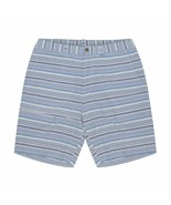 NEW RALPH LAUREN Polo Mens STRETCH Classic-Fit BLUE WHITE STRIPE CASUAL Shorts - $69.99