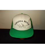 VTG-1980s Virginia Beach Seagulls rope mesh trucker snapback hat sku32 - $27.83