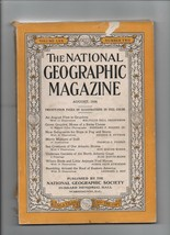 National Geographic - August 1936 - Gruyeres, Swiss Cheese, Imst, Sea Cr... - $2.93