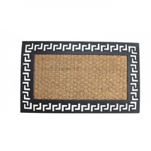 Welcome Mat With Geometric Border SSW-10017937 - $23.12