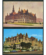 2 Antique St. Louis CITY HALL POSTCARDS Charmcraft J.S. McDermott 1910-1950 - $13.98