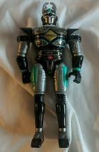 Bandai Beetleborgs Action Figure Mega Spectra Titanium Green Black Silver - $5.99