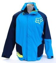 Fox Active Blue Insulated Waterproof Hooded Race Jacket  Men's NWT - $224.99