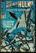 TALES TO ASTONISH #98-HULK/SUB-MARINER-1967 FN - $24.83