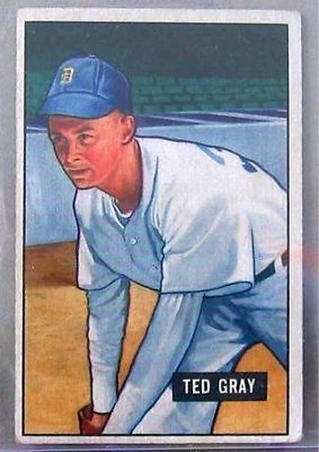 Primary image for 1951 Bowman #178 Ted Grau Detroit Tigers