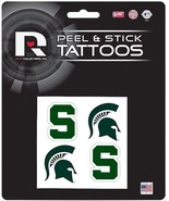 Michigan State University (MSU) Peel and Stick Tattoos - alternate - £4.56 GBP