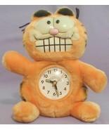 1981 GARFIELD PLUSH ALARM CLOCK TOY 1978 SOAP BAR AVON FAT CARTOON CAT V... - $78.79
