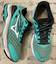 Mizuno Wave Inspire 12 Running Shoes Women's Size 8.5 - Green Turquoise R2 - $20.89