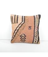 kilim pillow 16x16inc kilim Cushion Cover,Ethnic Anatolian Kilim  Pillow... - $49.00