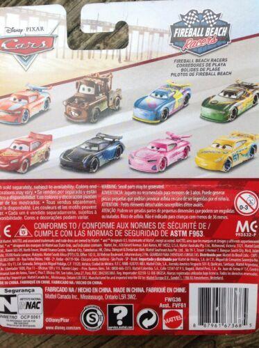 Disney Pixar Fireball Racers Paul Conrev Car 2018 image 3