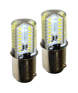 2-Pack HQRP 3W BA15d Base 64 LEDs Light Bulb for Kenmore Series Sewing M... - $12.95+
