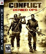 Conflict: Denied Ops - Playstation 3 [video game] - $51.01