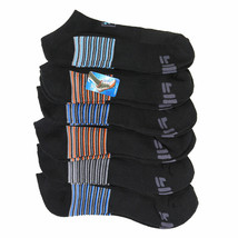 FILA Men's 6 Pack Classic Sport Athletic Gym Moisture Control Absorb Dry Socks image 2