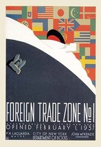 Foreign Trade Zone No. 1: NY City Department of Docks by Martin Weitzman - Art P - $19.99+