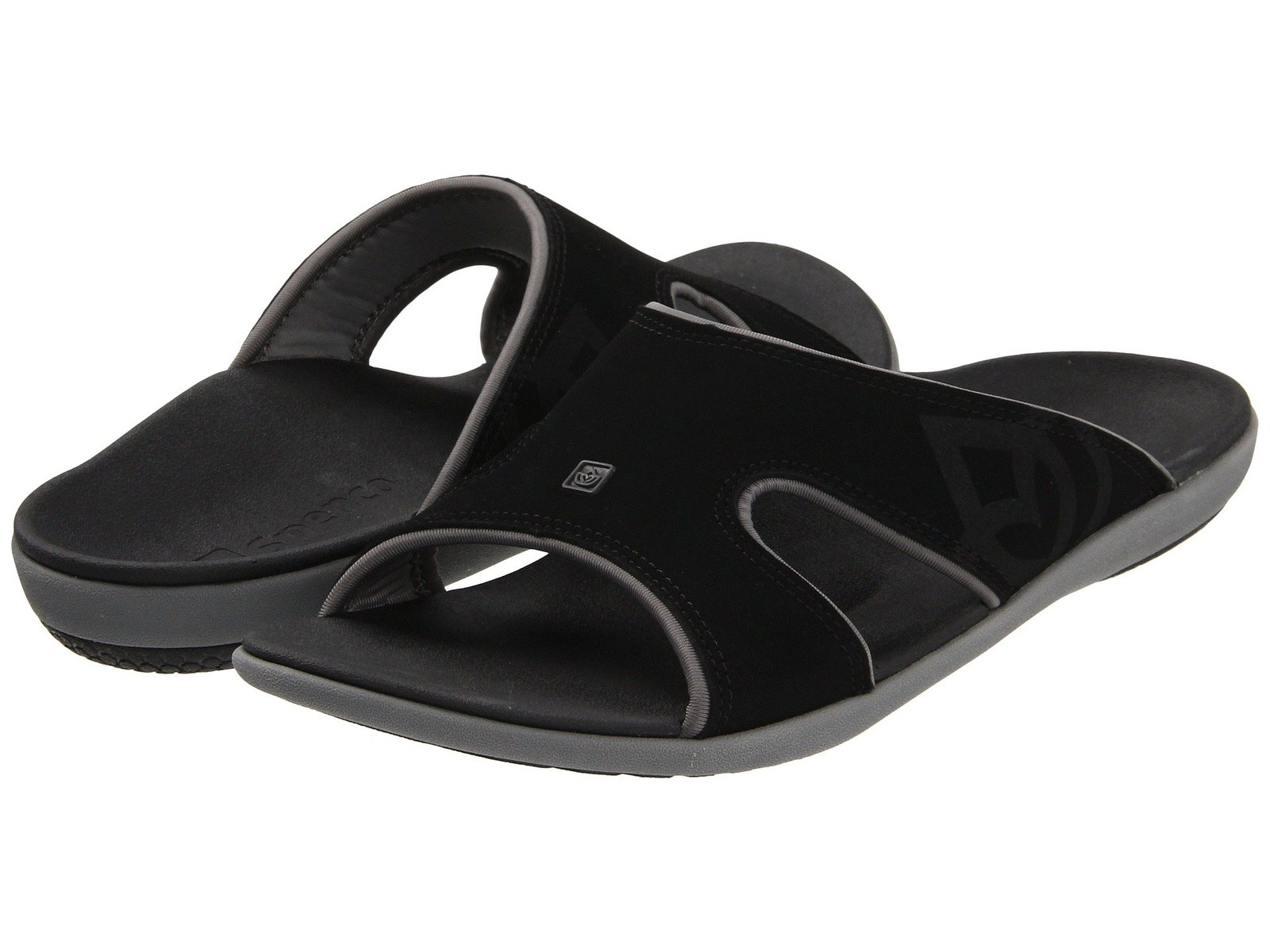Spenco Kholo Men's  Black Total Support Sandals