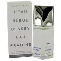 L'EAU BLEUE D'ISSEY POUR HOMME by Issey Miyake Eau De Fraiche Toilette S... - $27.60