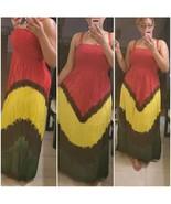 Rasta Maxi Dress - $50.00