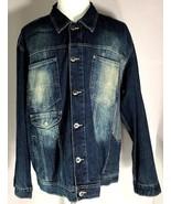 Southpole Denim Jacket Mens Size L Large 100% Cotton - $59.95