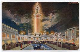 Electric Tower White City Amusement Park Chicago Illinois 1907 postcard - $6.44