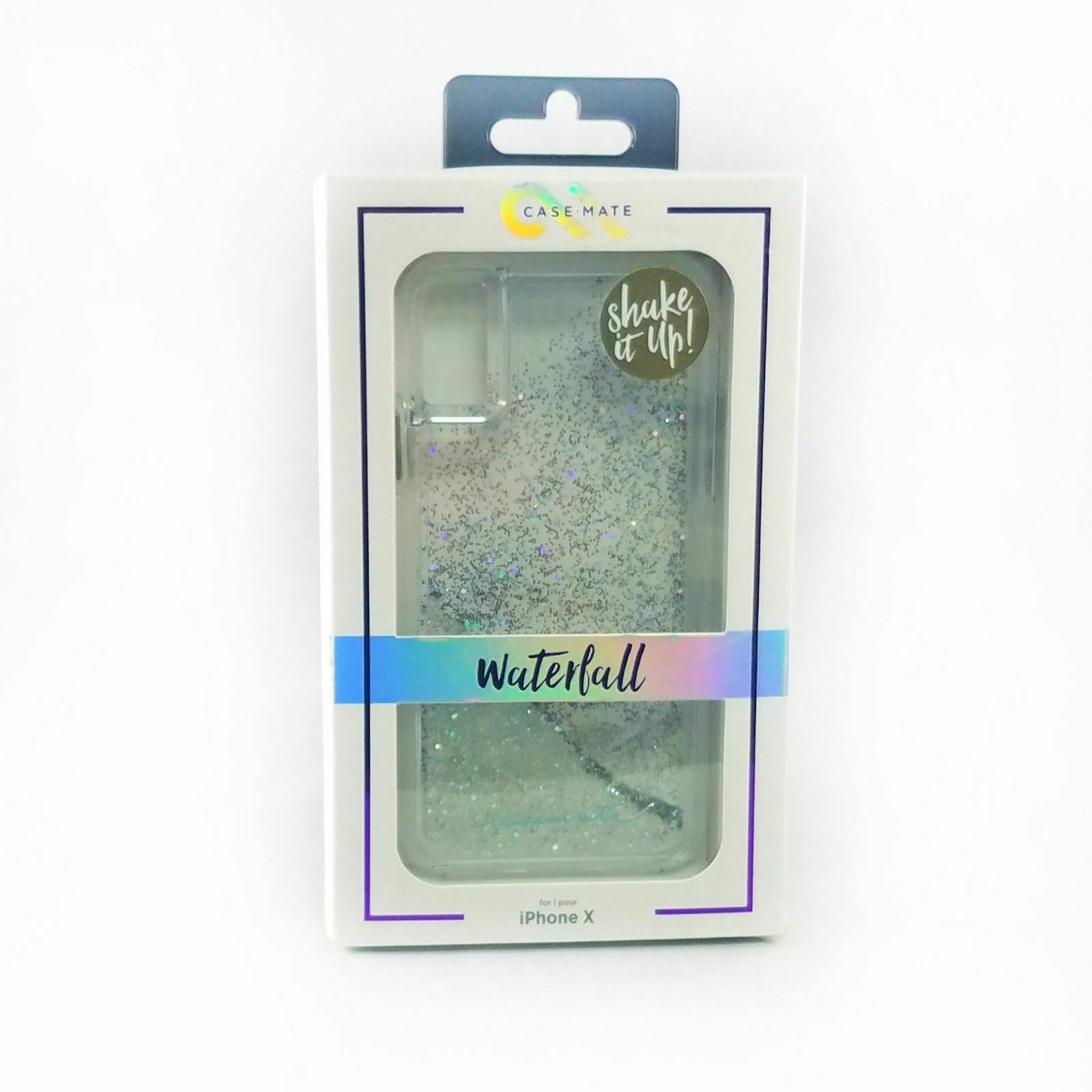 Iridescent Diamond Waterfall Naked Tough iPhone 7 Cases