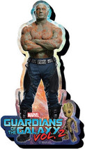 Guardians of the Galaxy Vol. 2 Drax Figure Chunky 3-D Die-Cut Magnet NEW... - $5.90