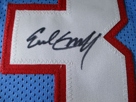 EARL CAMPBELL / NFL HALL OF FAME / AUTOGRAPHED HOUSTON OILERS CUSTOM JERSEY COA image 4