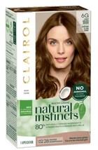 Clairol Natural Instincts 6G Light Golden Brown Semi-Permanent Hair Dye - $12.95