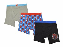 The Amazing Spider-Man Boys Boxer Briefs Underwear 3 Pack Marvel Comics - 6 - $9.85