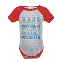Custom Party Shop Baby Boy's #Easter Happy Easter Red Onepiece 18 Months - $20.58
