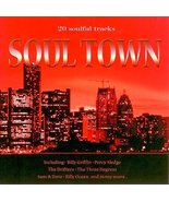 Soul Town [Audio CD] Various Artists; The Drifters; Kool & the Gang; Sis... - $9.89
