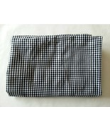 """Black and White 1/8"""" Gingham Check Fabric 42"""" long x 24"""" wide - $4.94"""