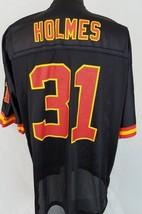 Kansas City Chiefs Priest Holmes #31 Black Reebok NFL Football Jersey Si... - €34,65 EUR