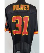 Kansas City Chiefs Priest Holmes #31 Black Reebok NFL Football Jersey Si... - $39.59