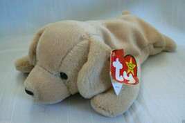 TY Beanie Baby FETCH Dog Feb 4 1997 mint with tag Retired - $35.59
