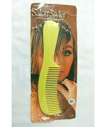 Vtg YELLOWISH GREEN Stanley Products Contour Beauty Comb SEALED Salon St... - $28.66