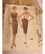 1959 McCall's Sewing Pattern 5239 SZ 14 Jacket Skirt Comolete - $5.89