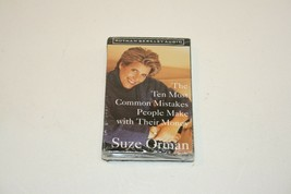 Suze Orman Cassette Ten Most Common Mistakes People Make With Their Mone... - $8.90