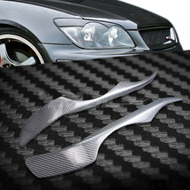 Carbon Fiber Car Headlight Cover Eyebrows Eyelid Trim For Lexus IS250 99... - $69.29