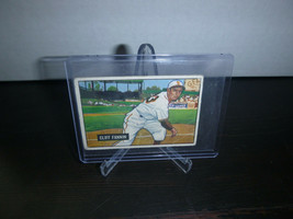 1951 Bowman Gum Baseball Card #244 Cliff Fannin Trading Card Good Condition - $8.90