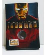 Iron Man (Ultimate 2 Disc Edition) DVD w/ Slipcover Robert Downey Jr - $4.00