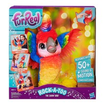 furReal Rock-A-Too The Show Bird Exclusive Interactive Pet Hasbro Licens... - $128.99