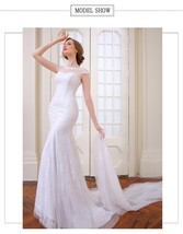 Elegant sexy Mermaid Wedding dress with removable skirt at Bling Brides ... - $299.99+