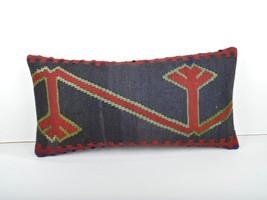 kilim pillow 12x24inc kilim Cushion Cover,Ethnic Anatolian Kilim Pillow ... - $39.00