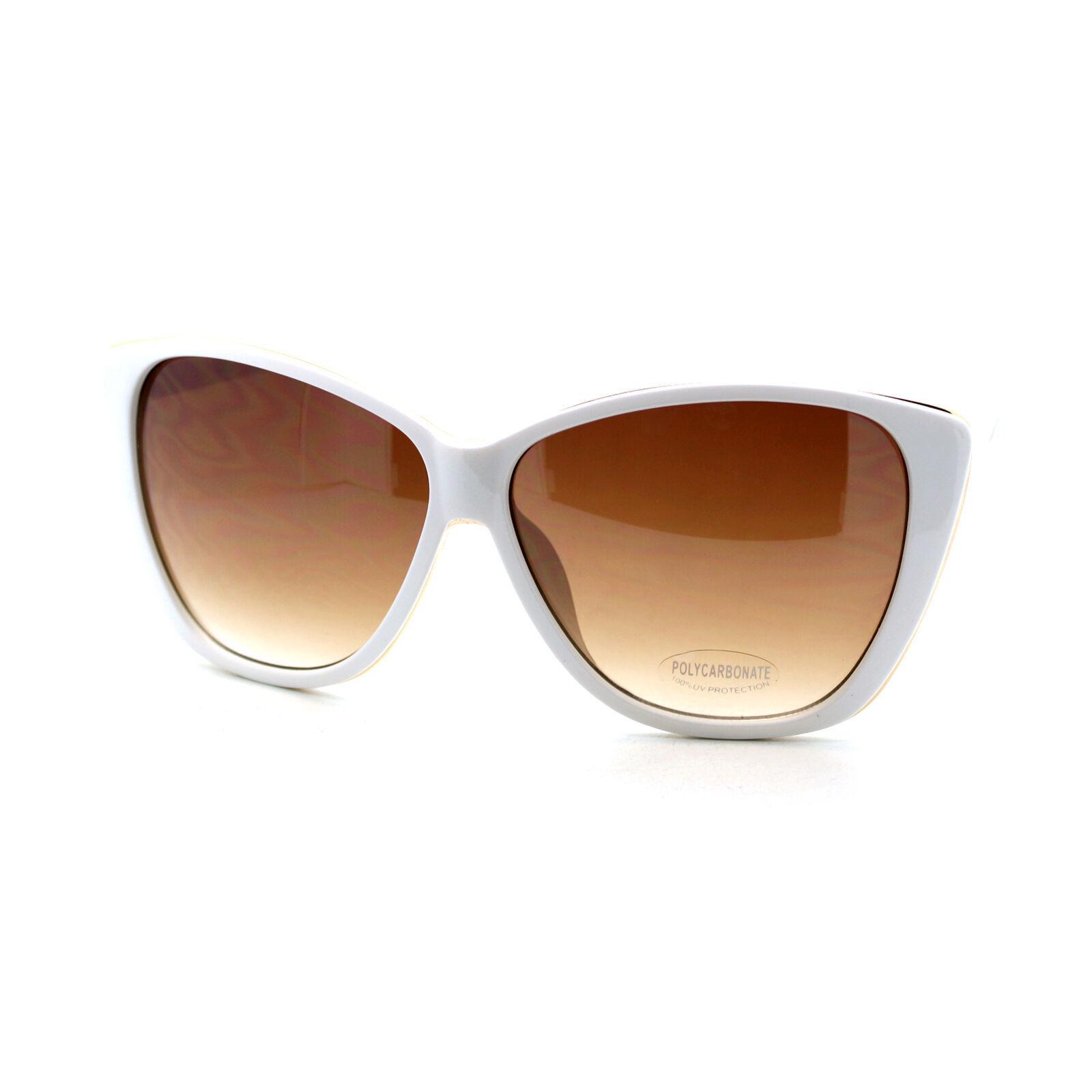 Oversized Square Butterfly Frame Sunglasses Womens Fashion Eyewear